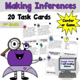 Making Inference Task Cards- Center/Game