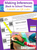 Making Inferences {School Themed} Foldable with QR Codes {