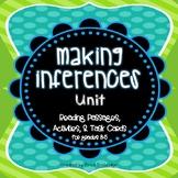 Making Inferences Unit, Grades 3-5, Common Core Reading