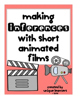 Making Inferences with Short Animated Films