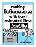 Making Inferences with Short Animated Films ~BUNDLE~