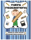 2.MD.1, 2.MD.3 Measuring & Estimating Lengths Differentiat
