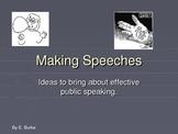 Making Speeches