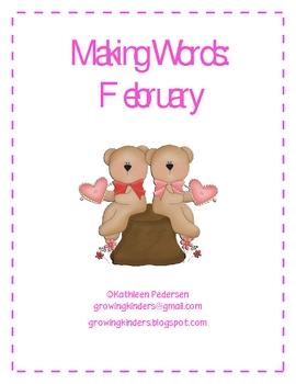 Making Words - February