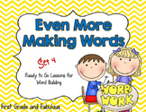 Making Words the Treasures Edition (2nd Grade:  Units 4-6)