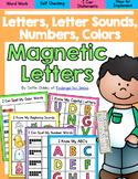 Magnetic Letters: Letters, Letter Sounds, Color Words, Num