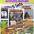 Mammals Activity Pack Bundle (5 Different Animals!)