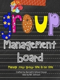 Management Plan {Chart for Organizing Group Time}