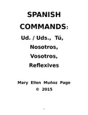 Mandatos -- ALL Spanish Commands (revised)