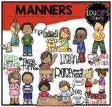 Manners Clip Art Bundle