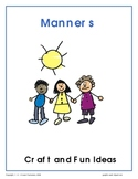 Manners - Craft Ideas