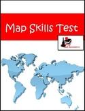Map Skills Test