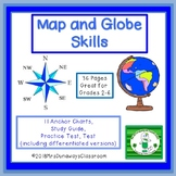 Map and Globe Skills Bundle