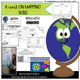Mapping Unit { Me on the Map/ My Place in This World }