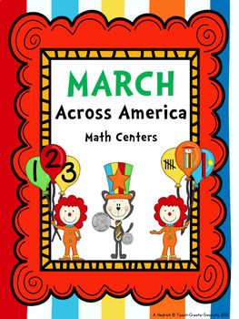 Dr. Seuss March Across America....Math Centers