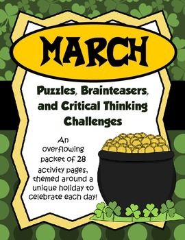 critical thinking brain teasers Tackle brain teasers because they require you to think about different ways to solve problems, brain teasers can serve as an excellent method for improving your critical thinking.