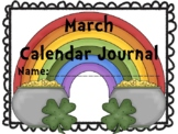 March Calendar Journal (Integrates Math and Literacy)
