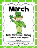March Daily Sentence Editing