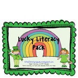 March Lucky Literacy Centers Pack