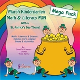 March Math & Literacy Mega-Pack / St. Patrick's Day Theme