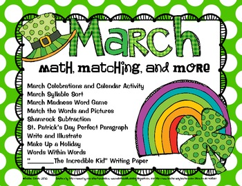 March: Math, Matching, and More