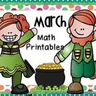 March Math Printables
