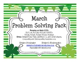 March Problem Solving Pack