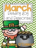 March Reading Log and Graphic Organizers