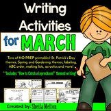 March Writing Resources