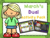 March's Dual School Counselor Activity Pack- Savvy School