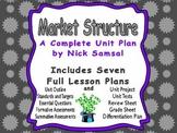 Market Structure Unit Plan - Includes Seven Full Lesson Plans