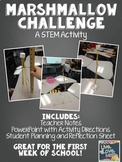 Marshmallow Challenge: A STEM Activity