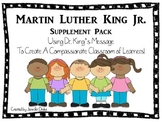 Martin Luther King Jr. Supplement Pack ~Activites To Creat