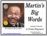 Martin's Big Words -  Martin Luther King's Wise Words Powe