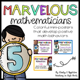 Marvelous Mathematicians {Mini-Posters that Develop Positi