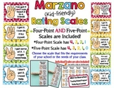 Marzano Kid-Friendly Rating Scales