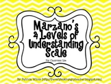 Marzano Levels of Understanding Scale