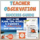 Marzano Observation + Evaluation Success Packet