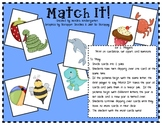 Match It! Beginning Letter Sound Game