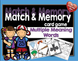 Match and Memory Card Game - Multiple Meaning Words