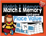 Match and Memory Card Game - Place Value