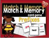 Match and Memory Card Game - Prefixes
