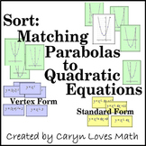 Matching Graphs of Parabola with Quadratic Equations  Revi