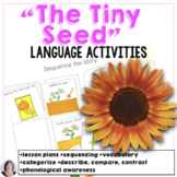 "Materials for ""The Tiny Seed"" - special education modifications"