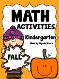 Math Activities-Fall