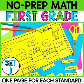Common Core Math 1st Grade Printables