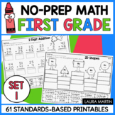 Common Core Math 1st Grade Printables