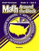 Math Around the Clock- Fractions