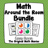 Math Around the Room Bundle: Eleven Engaging Activities