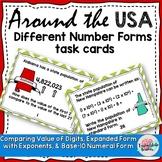 Math Around the USA Numbers Operations Base 10 5NBT1 5NBT2 5NBT3a